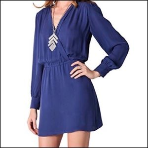 Beautiful royal blue Parker mini dress!